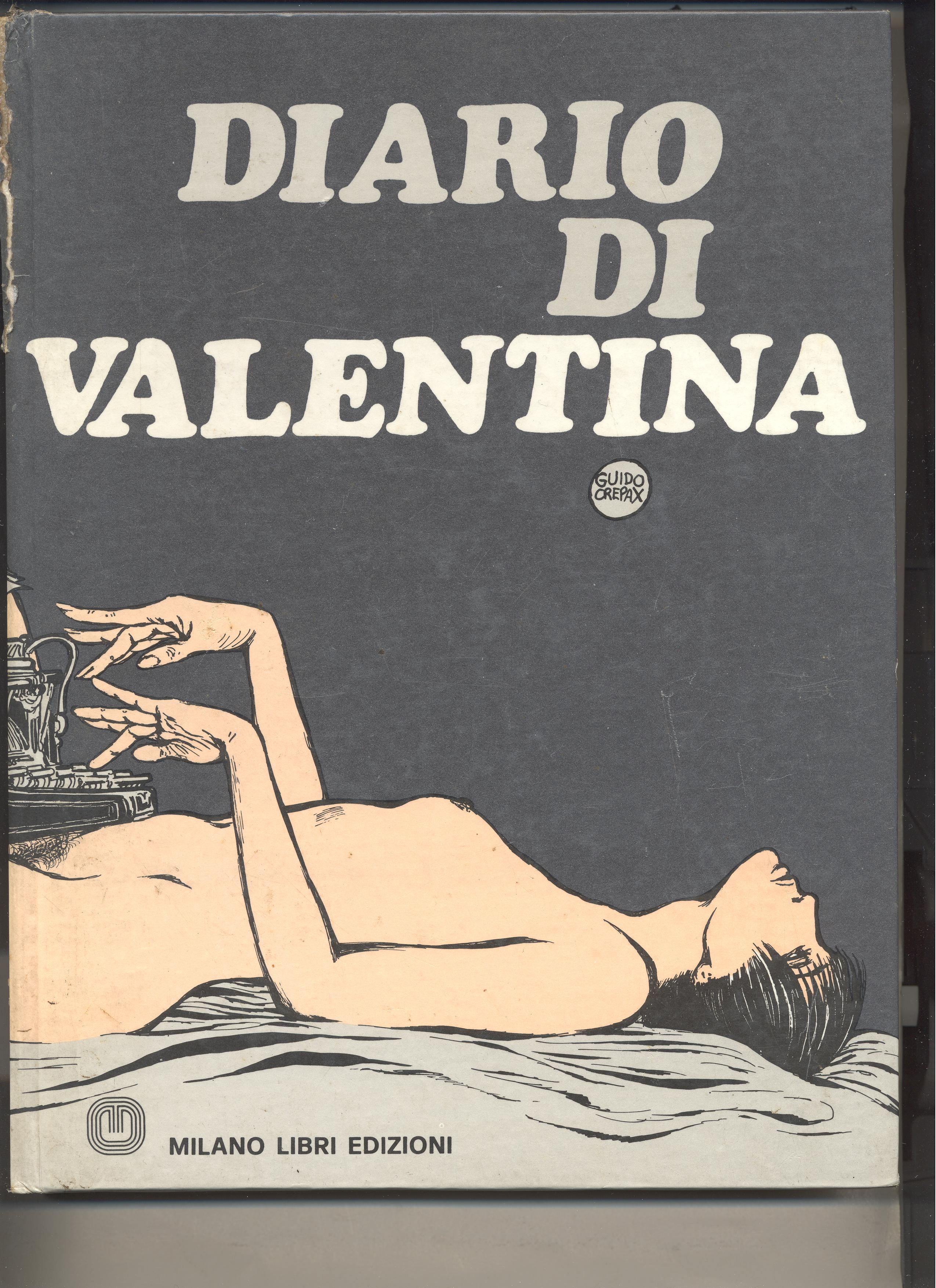 Diario di Valentina_Guido Crepax_Milano Libri Edizioni_Brugherio_1975