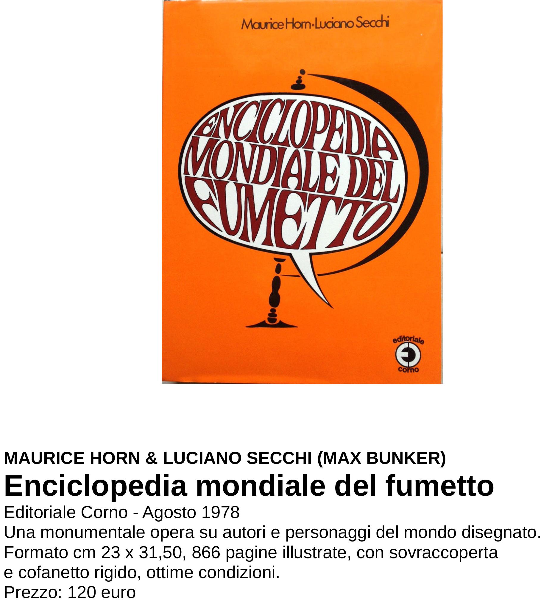ENCICLOPEDIA MONDIALE DEL FUMETTO[9535]