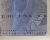arte in Italia_Quaderni della Triennale_Ferruccio Pasqui_Hoepli_1937