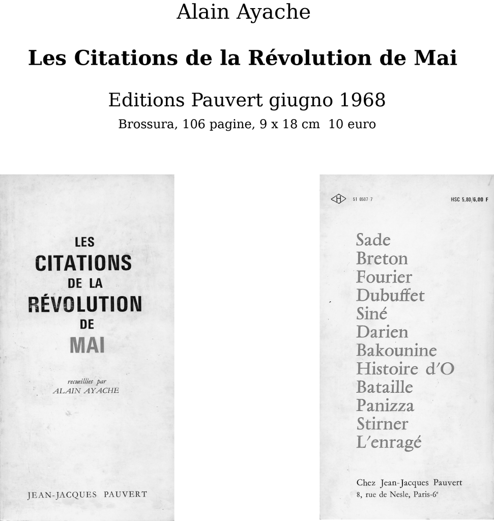 Les Citations de la Révolution de Mai [11620]