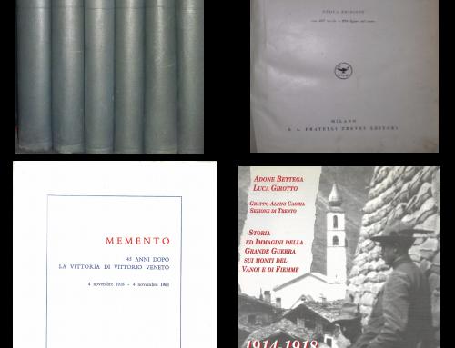 Studio Bibliografico Balbo – 100° Prima Guerra Mondiale, domenica 11 novembre 2018
