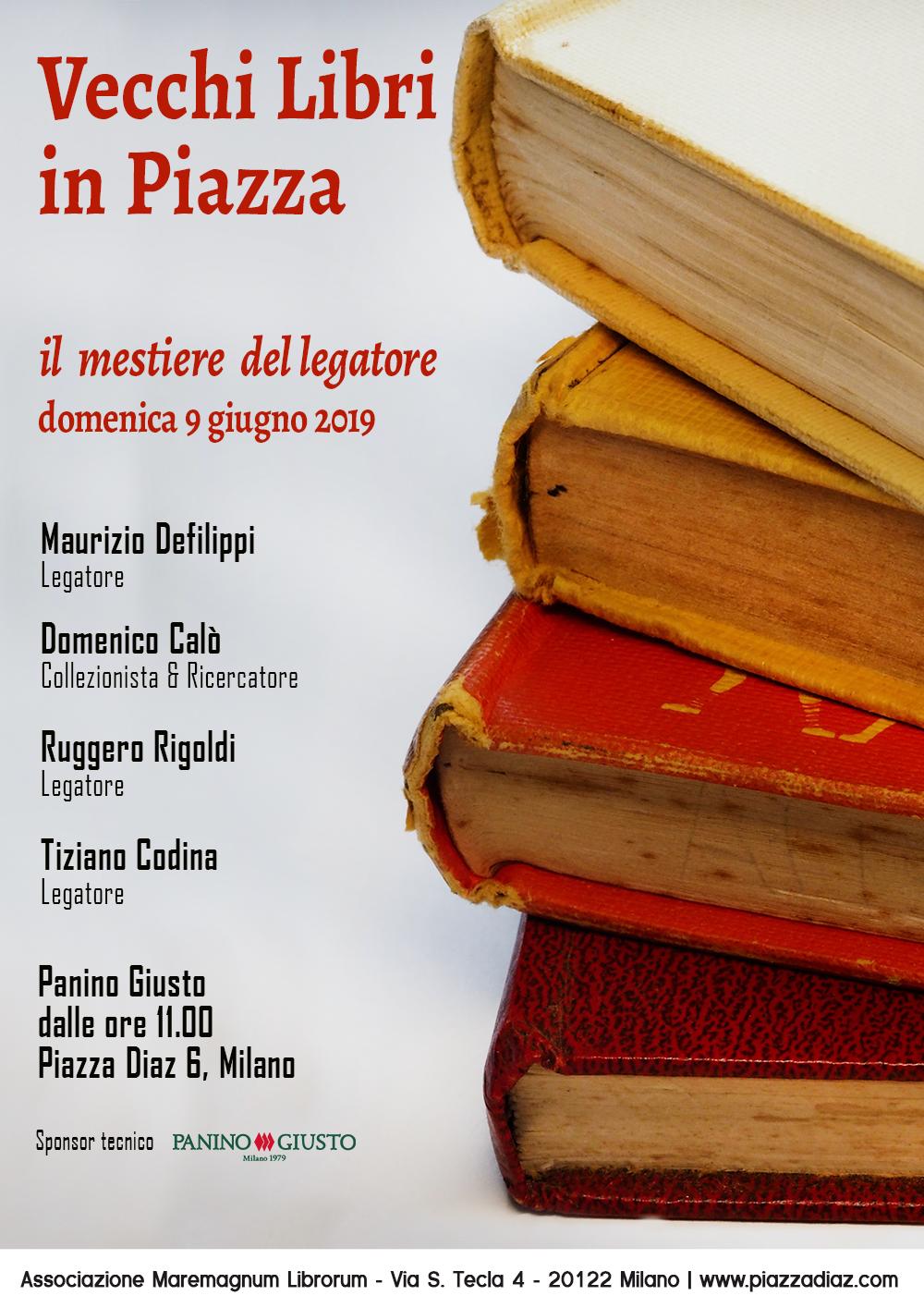 Conferenza gratuita IL MESTIERE DEL LEGATORE