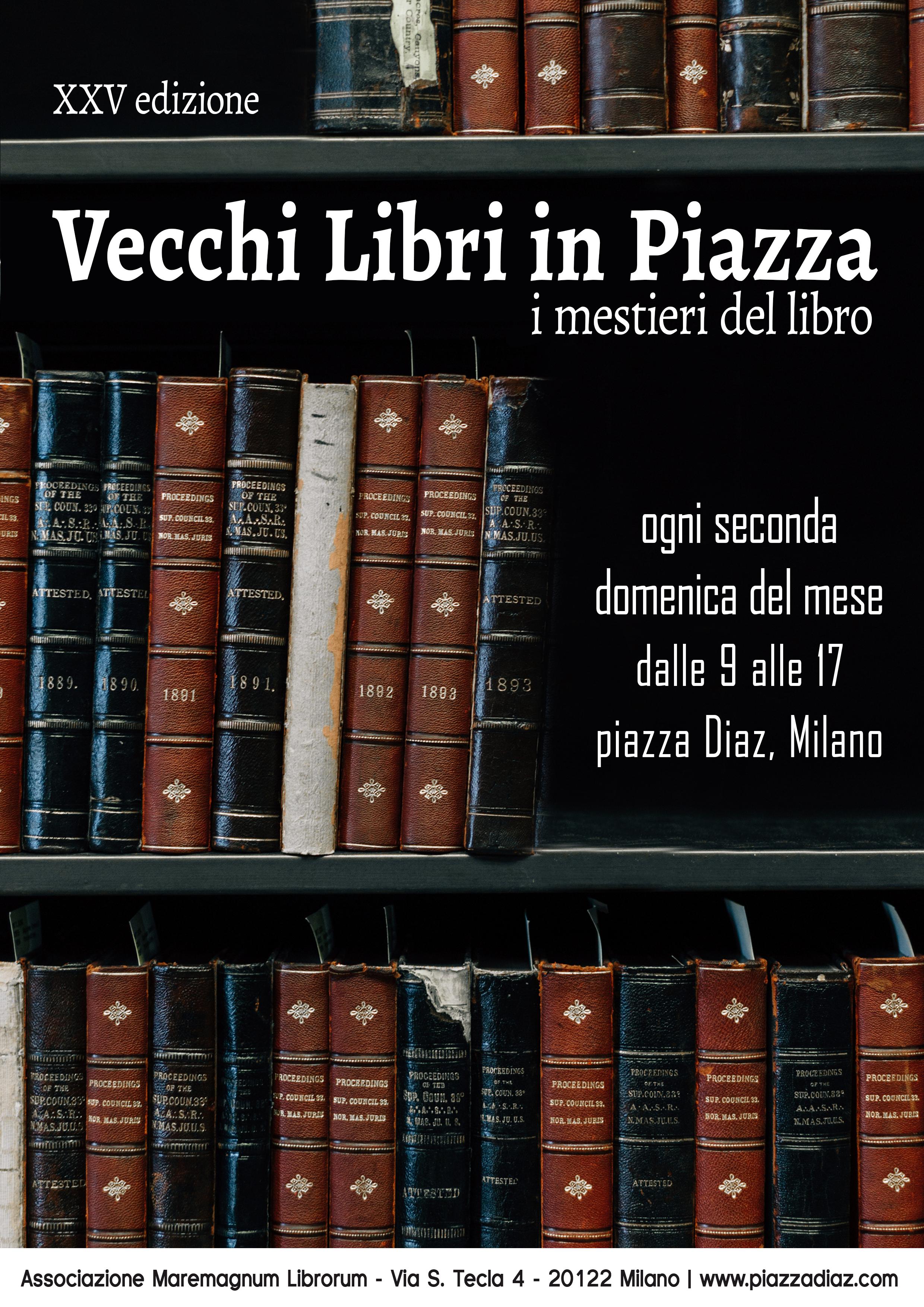 Vecchi libri in piazza 2019