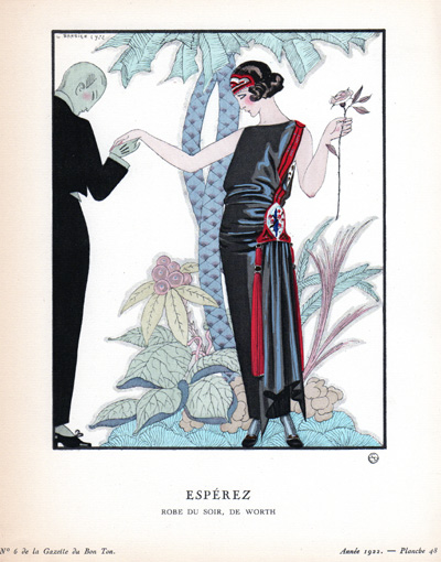 pochoir Georges Barbier