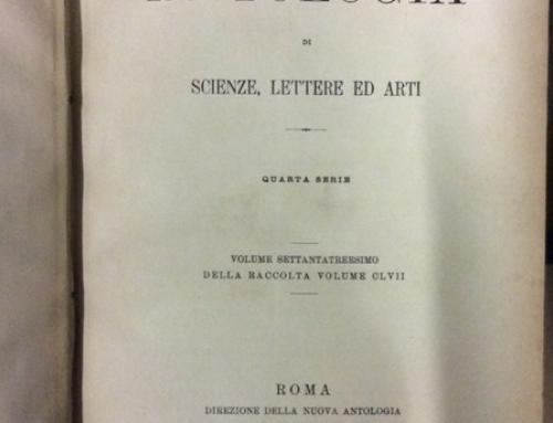 Libreria Antiquaria Malavasi – Letteratura siciliana, domenica 14 ottobre 2018
