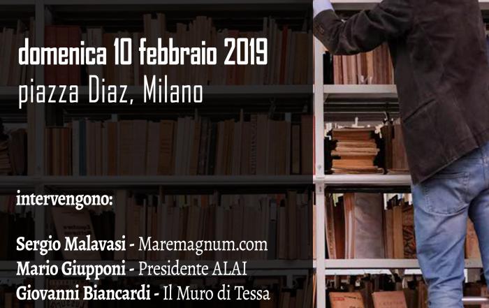 Vecchi libri in piazza febbraio 2019